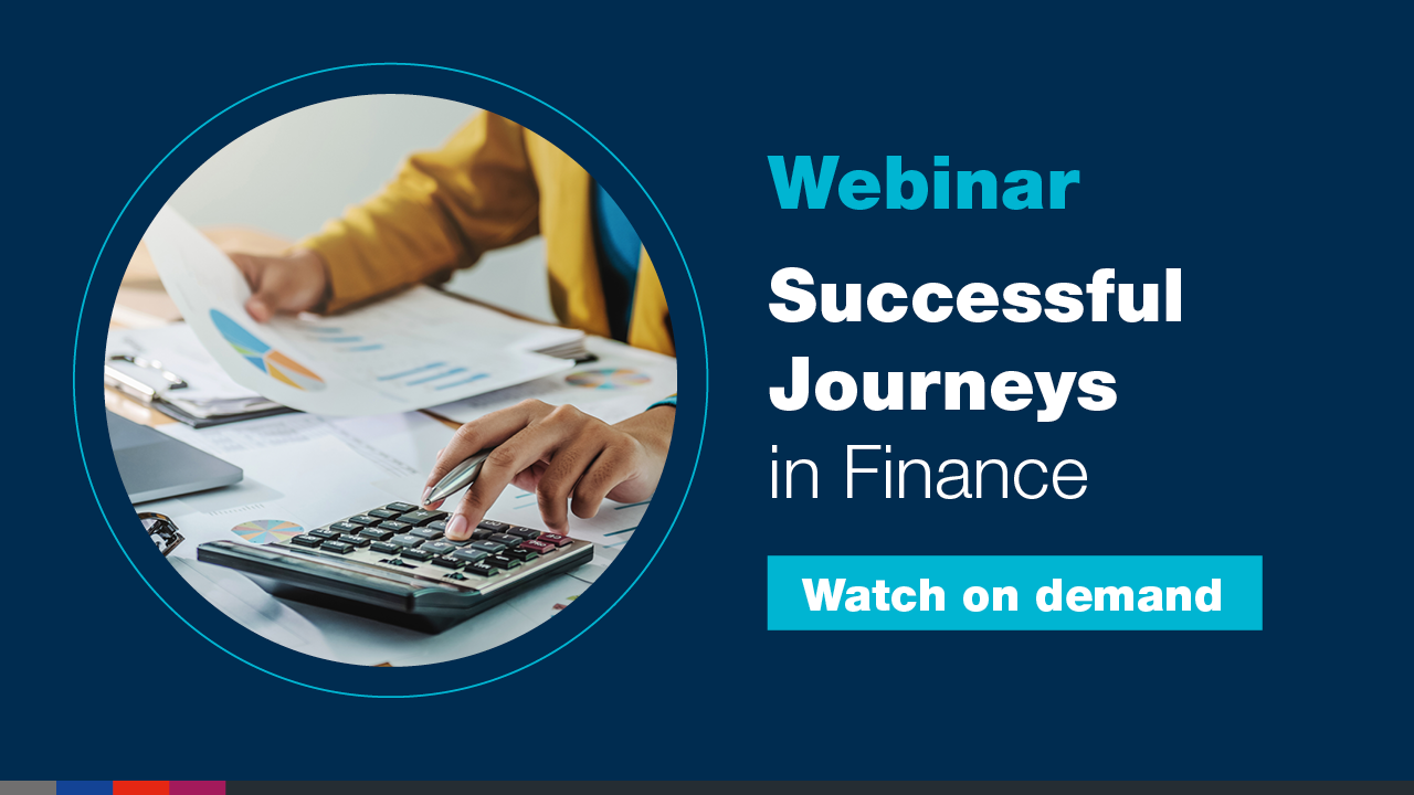Webinar: Successful Journeys in Finance - Part 3