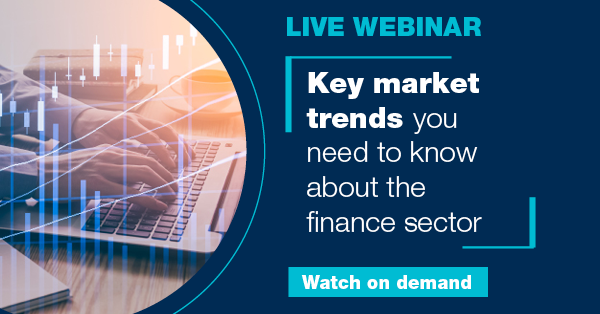 Key market trends you need to know about the finance sector
