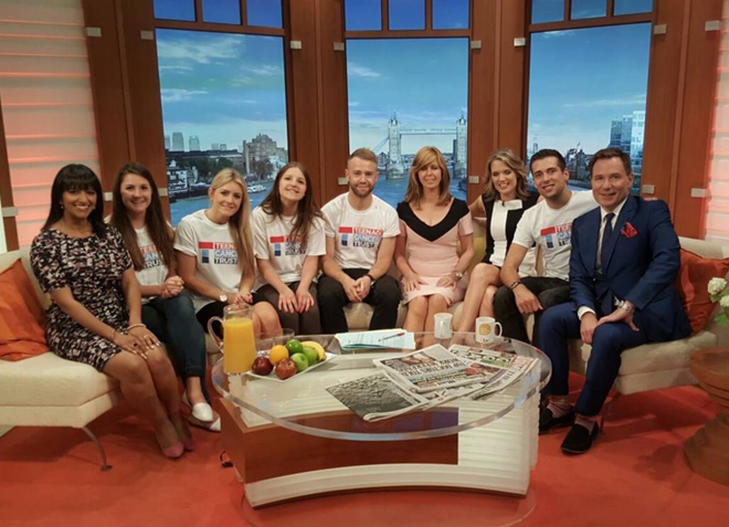 PageGroup Visits Good Morning Britain on Fundraising Escapade