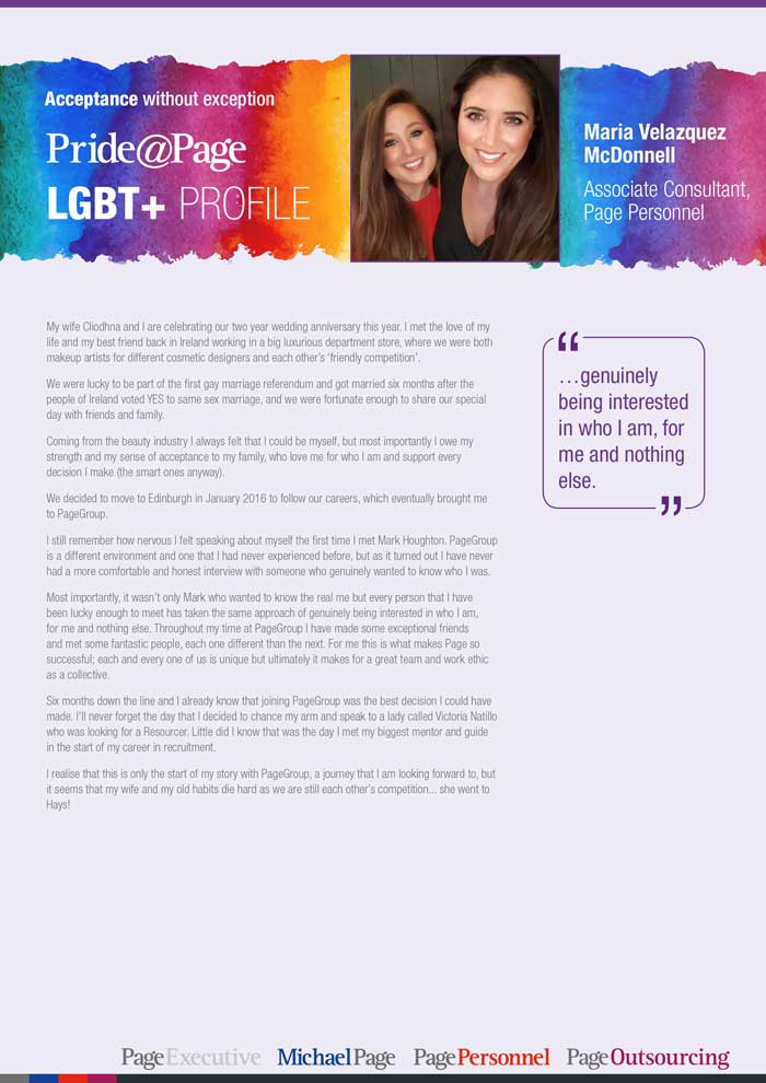 Pride Month profile: Maria