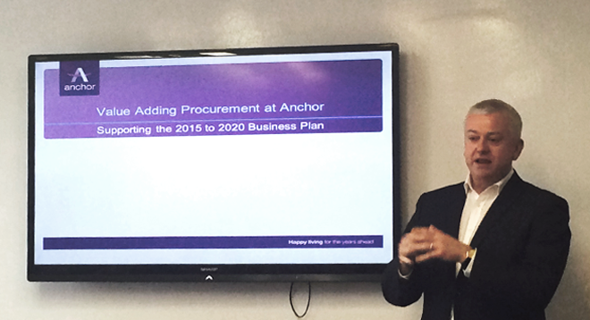 Procurement Development in Anchor Trust