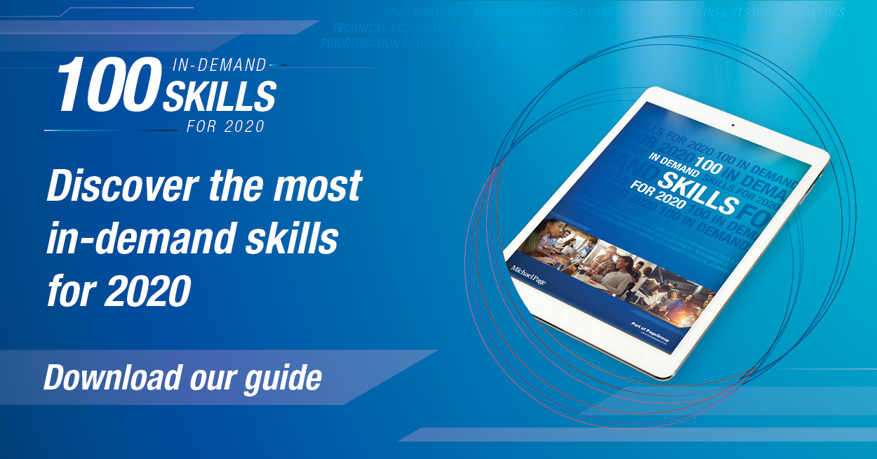 Michael page - 100 Top Skills Ebook