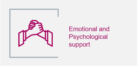 Emotional and Psychological support