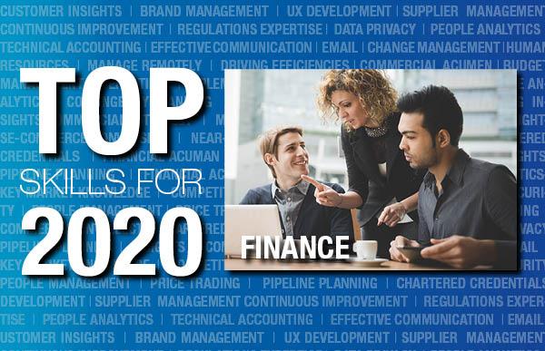Finance top skills 2020
