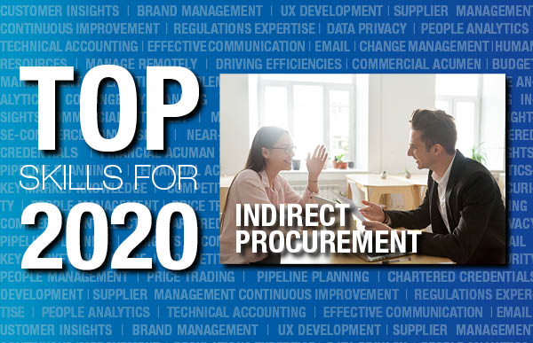Indirect procurement top skills